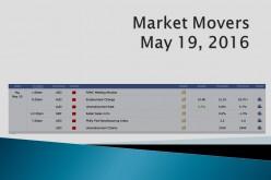 Market Movers   May 19, 2016