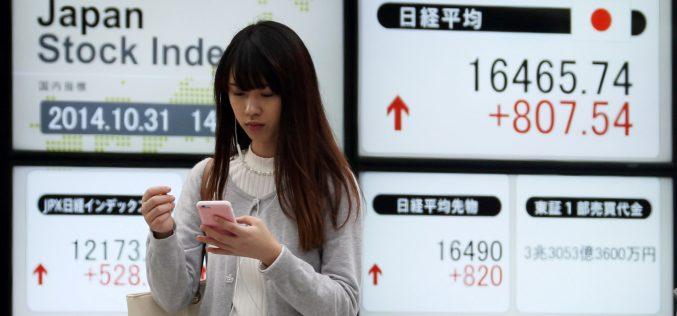 Imbas Dow Jones, Nikkei Potensi 23000?